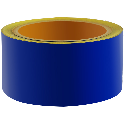 Reflecterend Tape ECONOMIC 50mm Blauw
