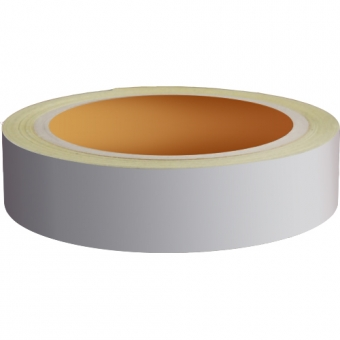 Reflecterend Tape ECONOMIC 25mm Zilvergrijs