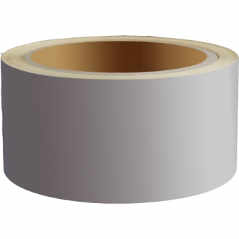 Reflecterend Tape ECONOMIC 50mm Zilvergrijs
