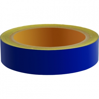 Reflecterend Tape ECONOMIC 25mm Blauw