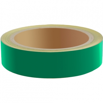Reflecterend Tape ECONOMIC 25mm Groen