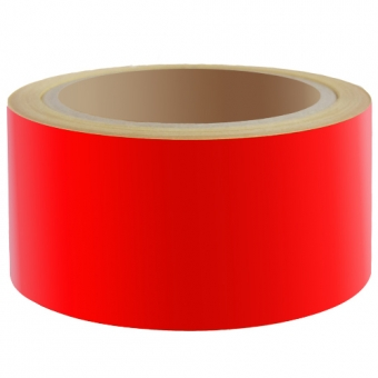 Reflecterend Tape ECONOMIC 50mm Rood