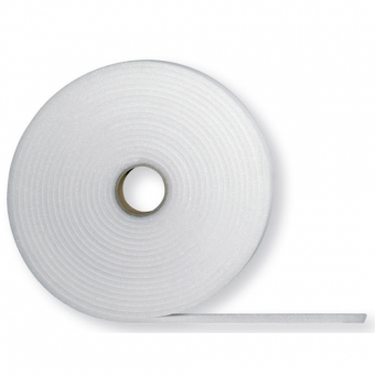 Glasband 4mm x 9mm x 20 meter Wit
